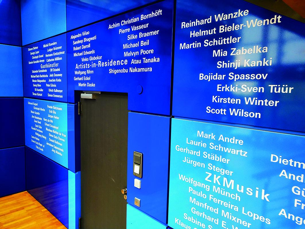德國新媒體數位藝術中心每天都有精采的演出或實驗性創作。.JPG