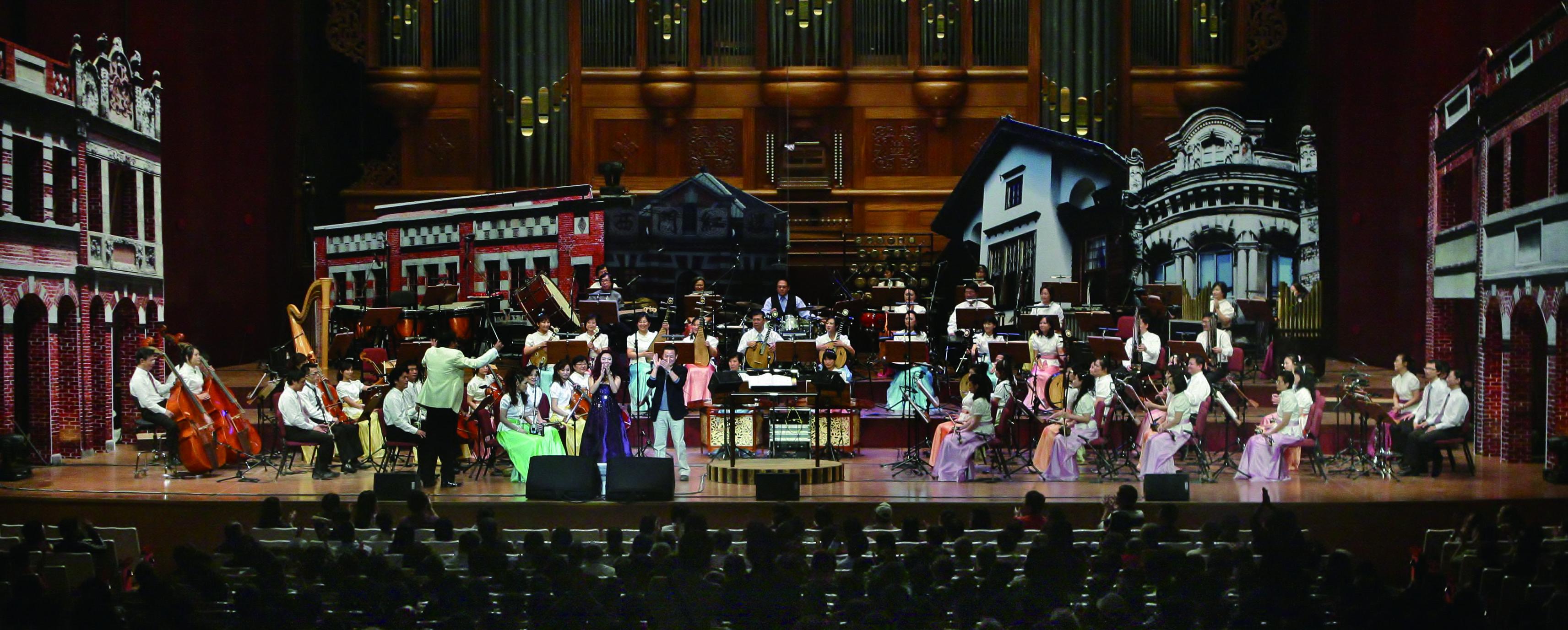 臺灣國樂團也嘗試用不同包裝與設計來豐富舞台的展演。.jpg