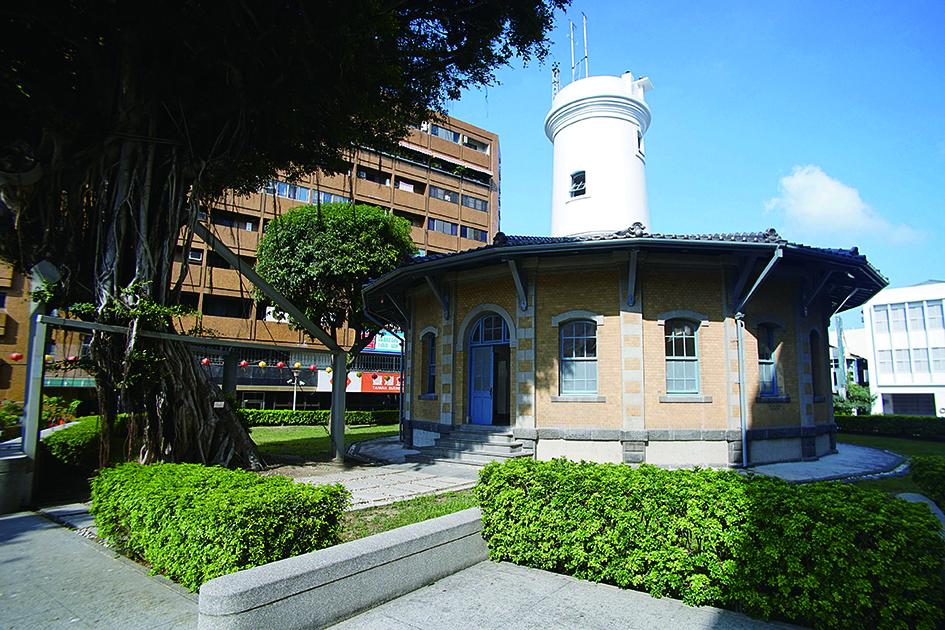 原臺南測候所為南區氣象中心氣象展示場的重要展示空間之一.jpg