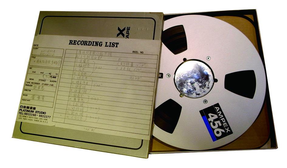 歌仔戲國寶廖瓊枝40年前的珍貴原聲錄音,都在這盤帶中完整保存。.jpg