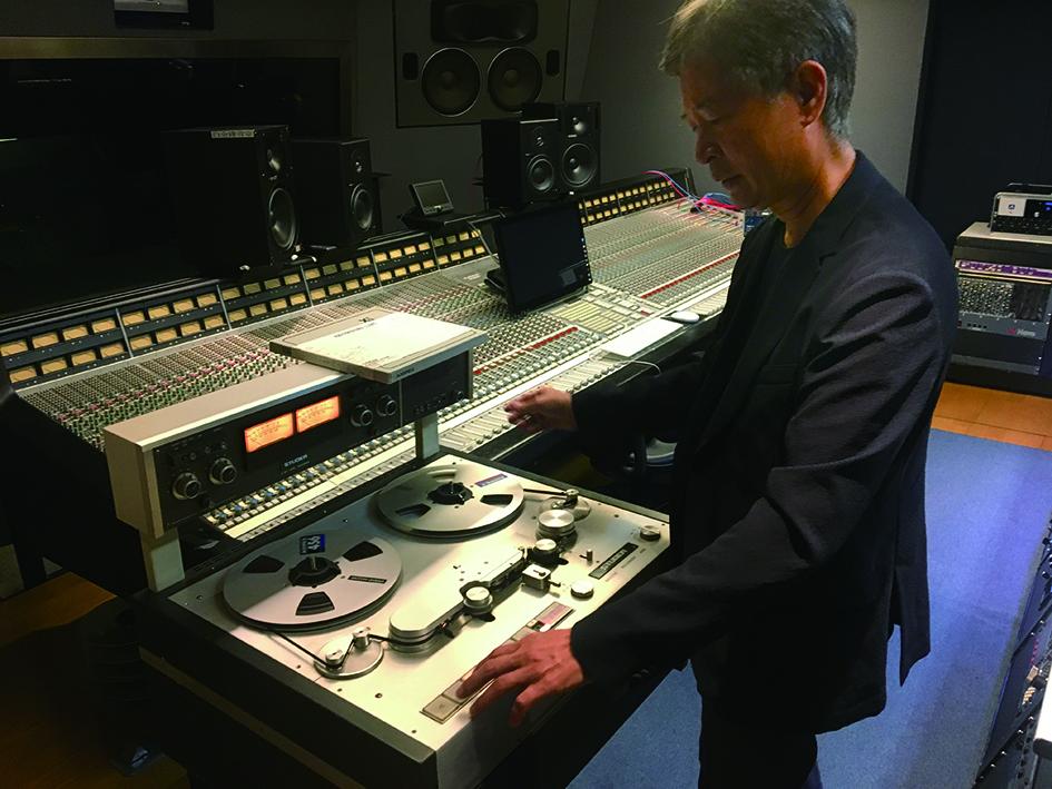 錄音室是葉垂青的青春,也是現在與未來。.JPG