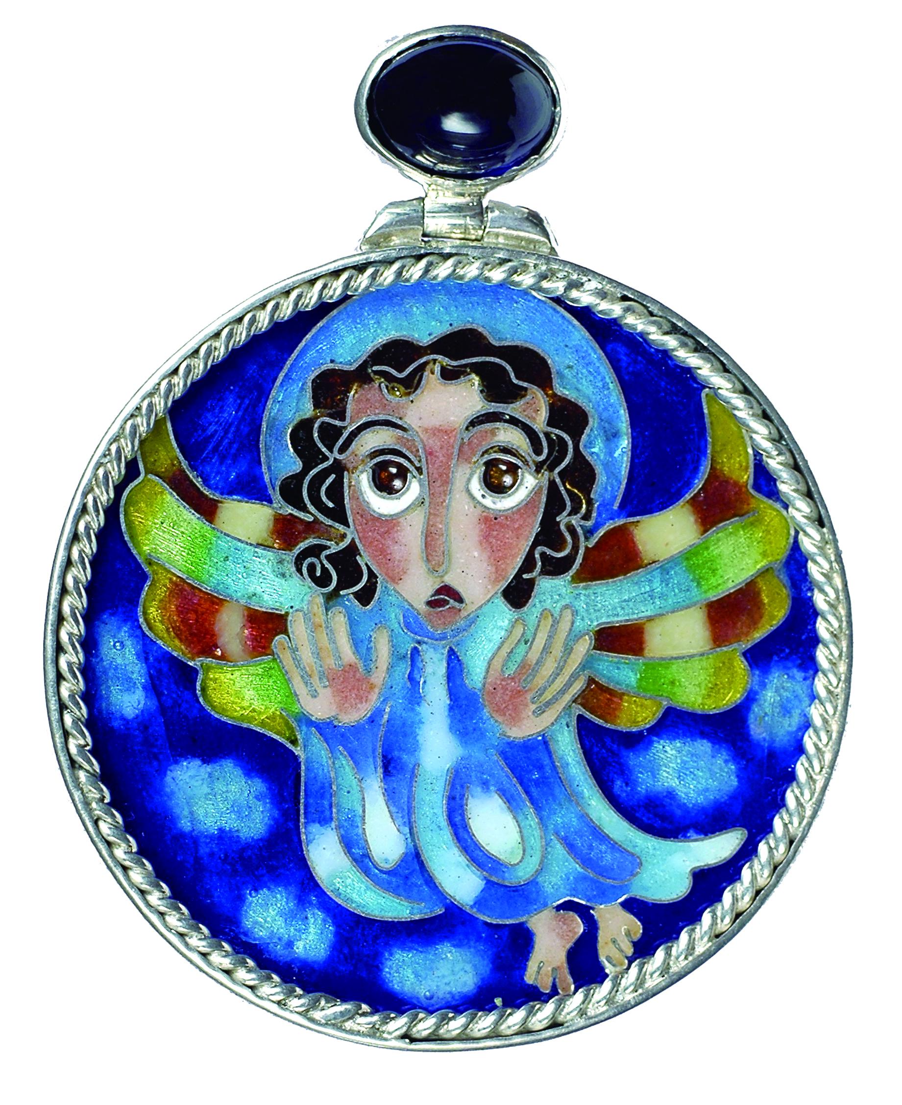 喬治雅琺瑯工藝能夠表現人像的時代感與趣味。.jpg