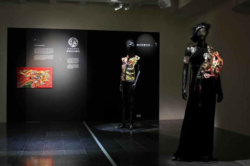 4F-手路x新徑:工藝職人創新之路展(回顧)-府城光彩繡莊展區