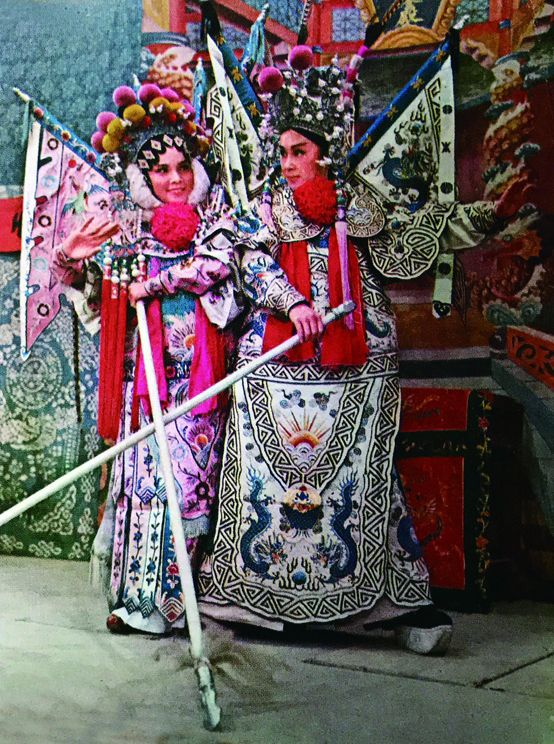 王金櫻與柳青當了螢幕情侶20年,但在現實生活中數十年情誼難忘.jpg