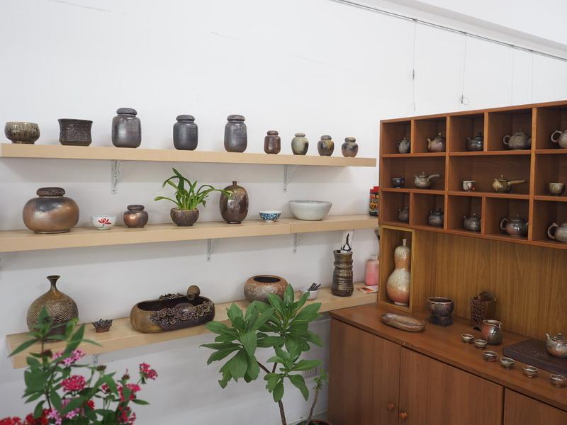 3F陶藝工坊-溫潤陶器琳瑯滿目