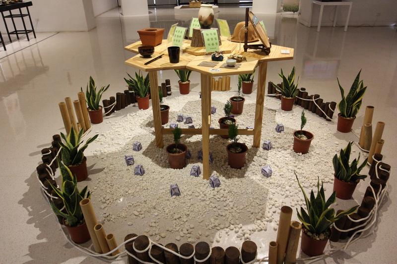 1F-帶著茶藝旅行社區工藝展-並呈現工藝五感與美的視覺饗宴