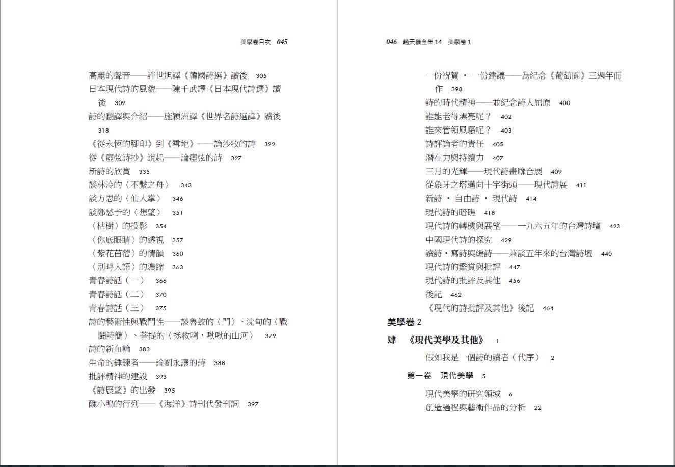 趙天儀全集-美學卷-目錄3.JPG