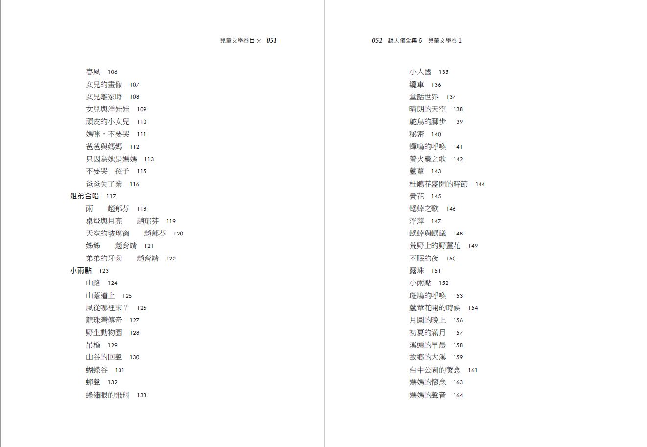 趙天儀全集-兒童文學卷-目錄3.JPG