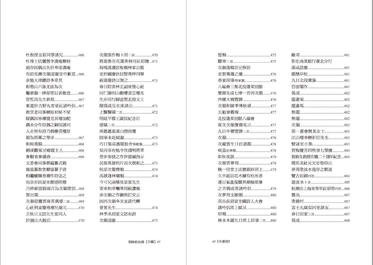 全臺詩 第65冊-目錄17.JPG