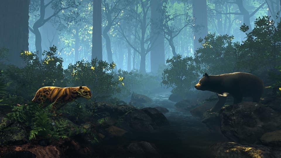 臺灣雲豹與黑熊的傳說1