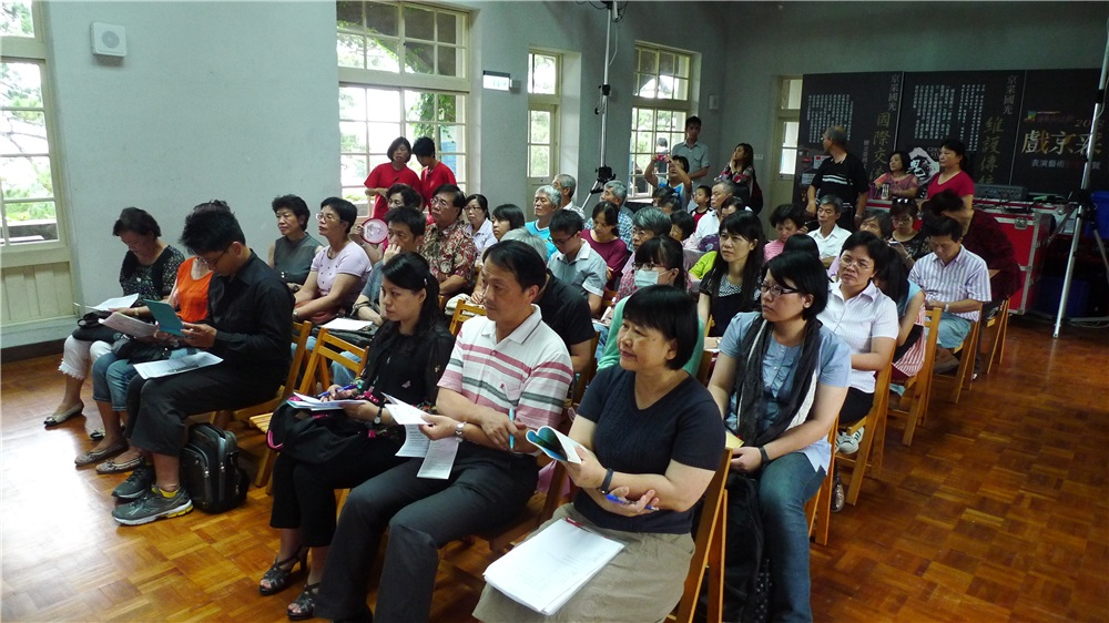 座談花蓮縣文化局秘書姜家珍及現場觀眾