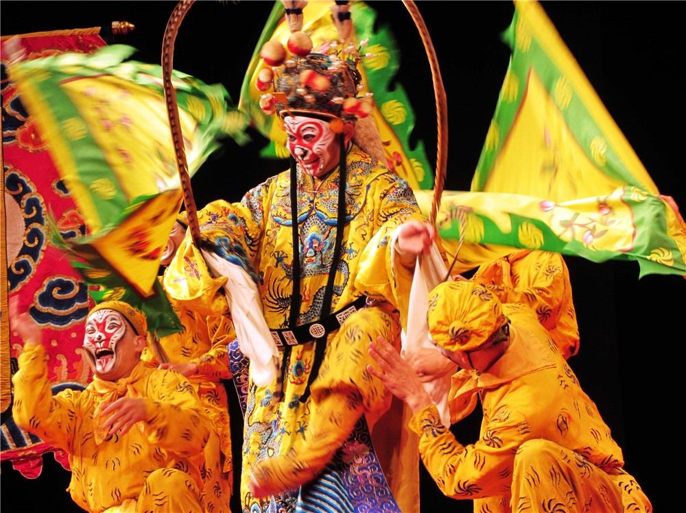 國光劇團2013京彩歐巡由青年武生李佳麒擔綱主演美猴王。