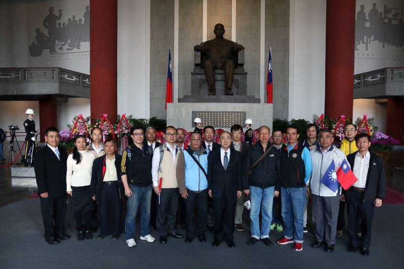 中華世界大同幸福勞動聯盟與中華龍華易研書道協會敬獻