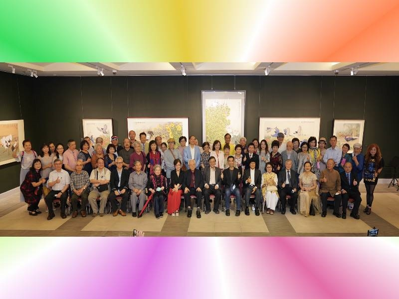 Chang Ke-chi 70-year-old Retrospective Exhibition –Opening Ceremony - 7
