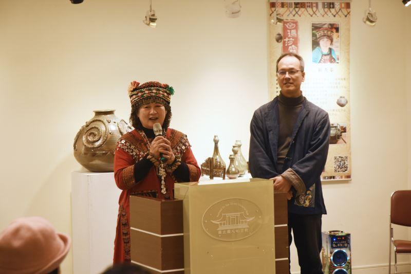 瑪莎露(賴秀蓁)陶藝創作展