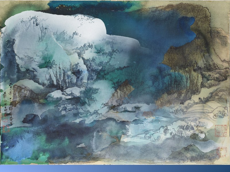 Jang Da-chia─Spring Snow