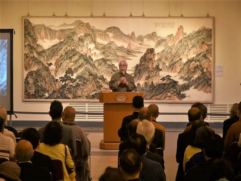 """""""Floating Clouds, Washing Stones-Chou Chen 80th Retrospective Exhibition""""-6"""