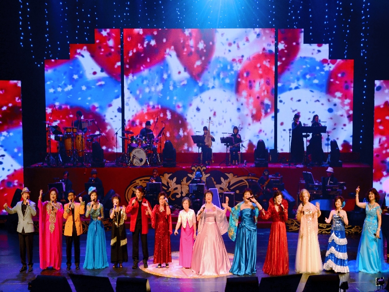Concert of Golden Voice and Songs for year 2016
