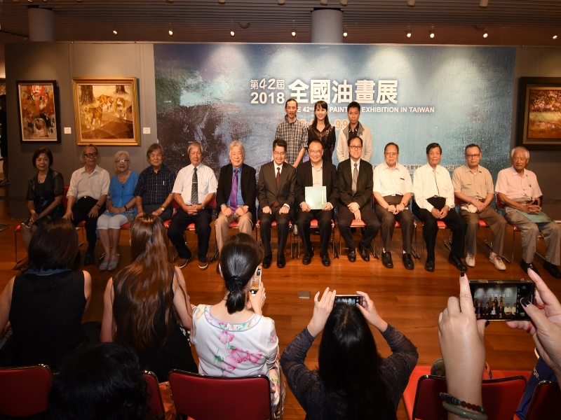 """Opening Ceremony of """"The 42nd National Oil Painting Exhibition"""""""