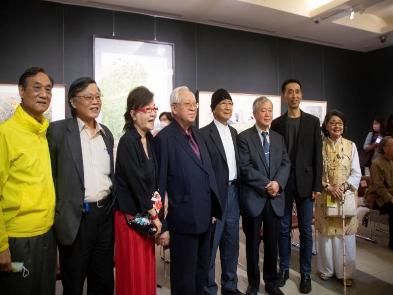 Chang Ke-chi 70-year-old Retrospective Exhibition –Opening Ceremony - 8