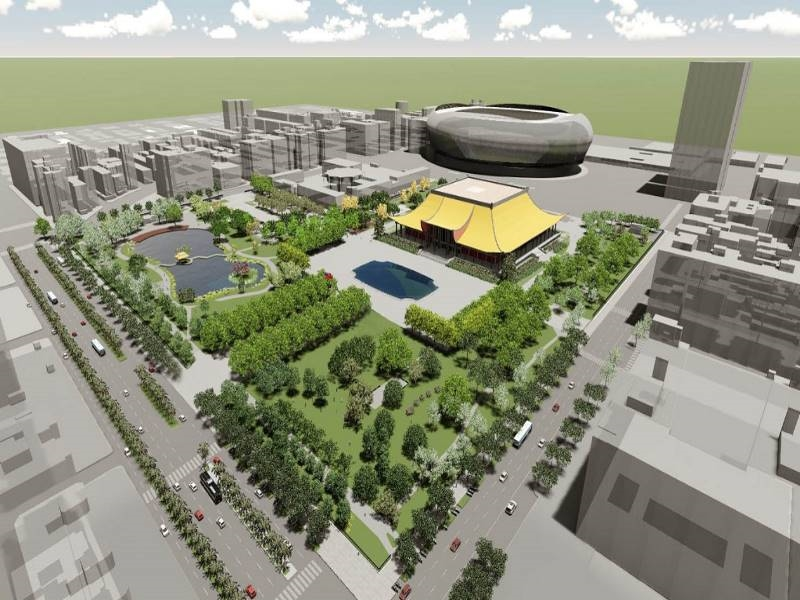 Received Simulated Illustration after National Dr. Sun Yat-sen Memorial Landscape Renovation