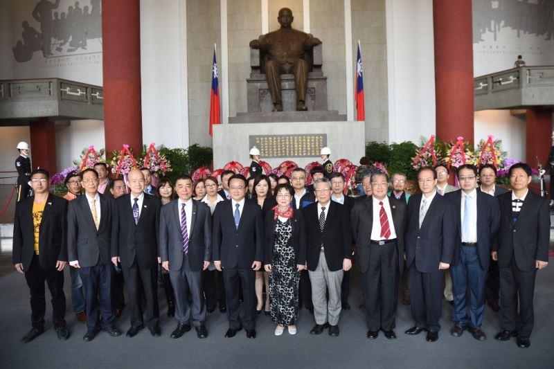 中華民族致公黨與全民幸福政黨大聯盟敬獻
