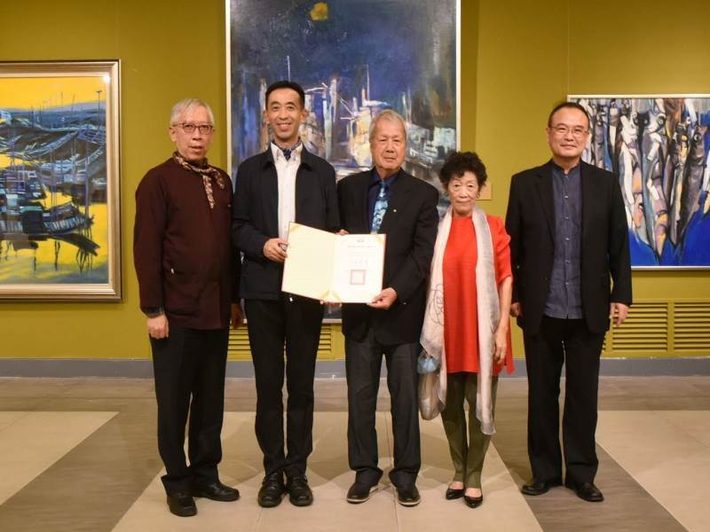 "Opening Ceremony of ""Ni Chao-Lung Retrospective Exhibition 2020""- 8"