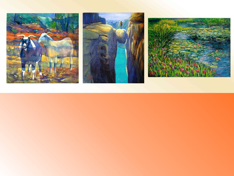 The colorful world under the sun—joint exhibition of 3 painters