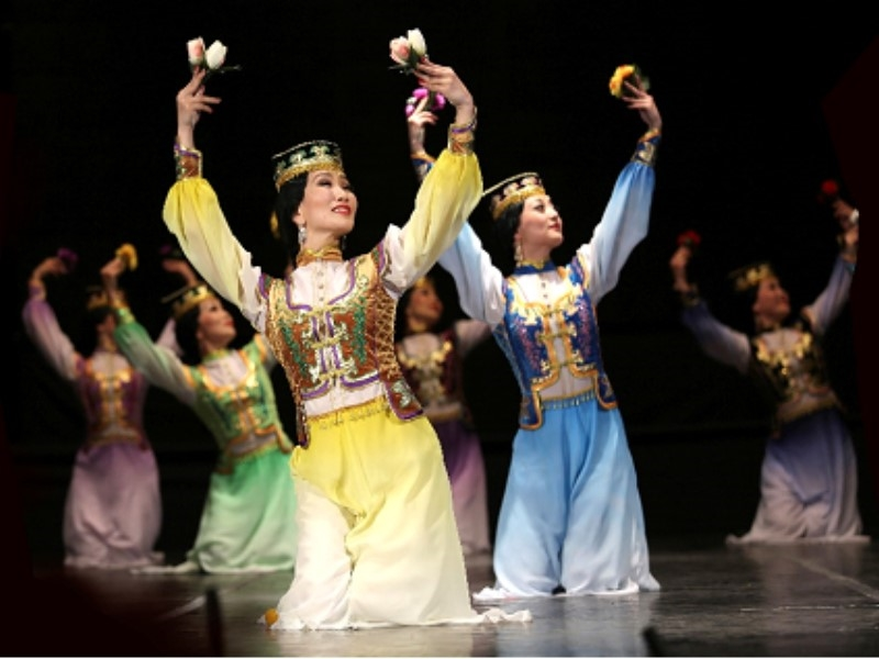 Traditional Art and Cultural Performance of Kalmyk, Mongol-Tulips from the Caspian Sea