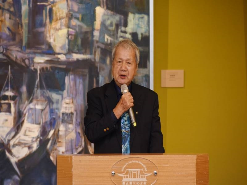 "Opening Ceremony of ""Ni Chao-Lung Retrospective Exhibition 2020""- 6"