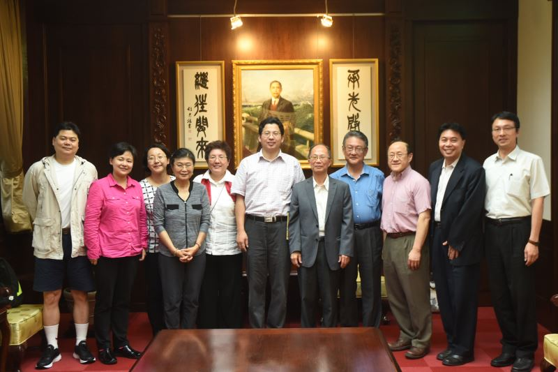 大陸旅美歷史教授協會參訪