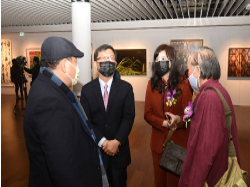 """Award-giving and Opening Ceremony of """"2020 Chungshan Youth Art Award Exhibition"""" - 12"""