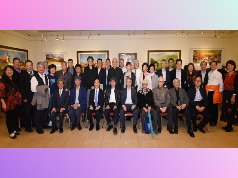 """Opening Ceremony of """"Original Dream: Cai Yi-Zhu Oil and Watercolor Painting Solo Exhibition"""""""