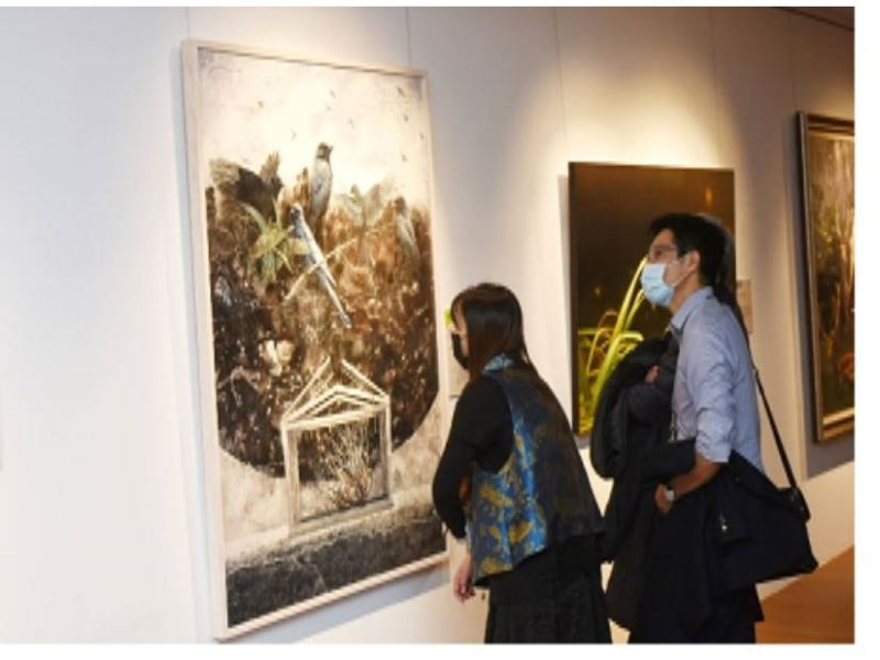 """Award-giving and Opening Ceremony of """"2020 Chungshan Youth Art Award Exhibition"""" -13"""