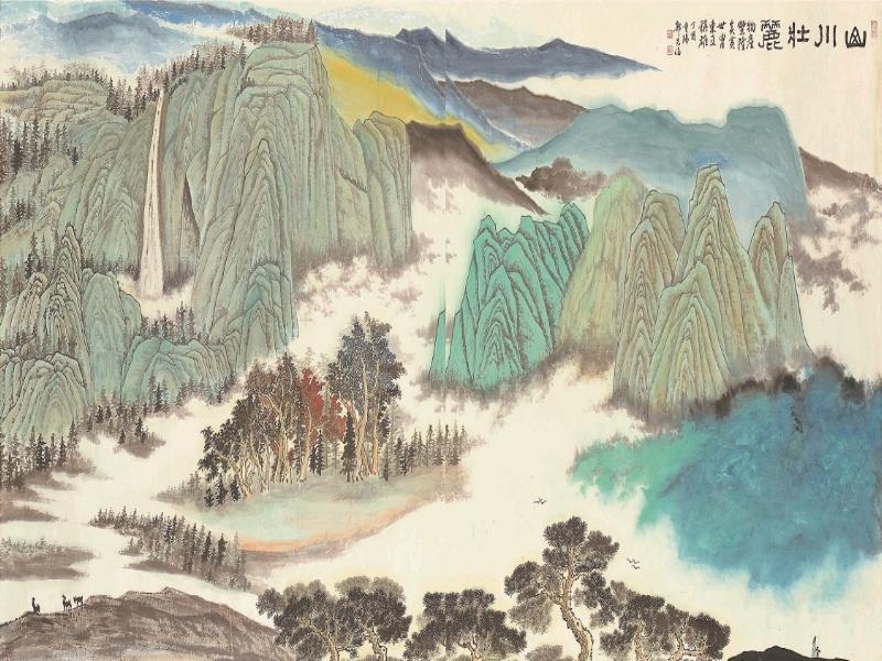 Guo Xian-lun《Magnificent Landscape》