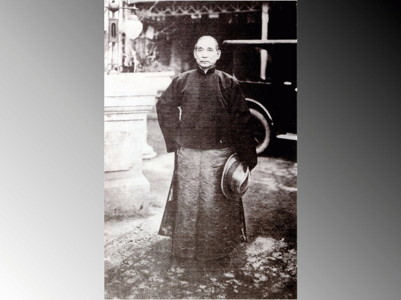 Dr. Sun Yat-sen Toiled National Affairs Day and Night