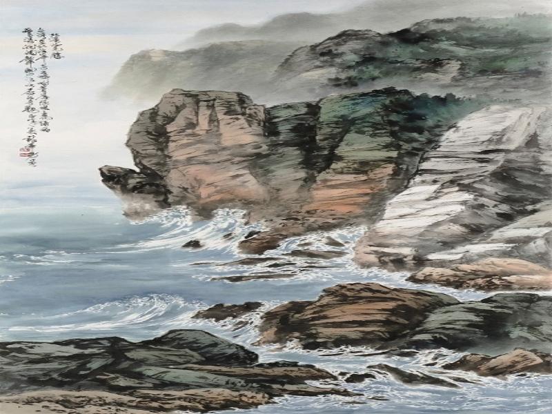 Su Feng-nan《Magnificence of North Mountain》