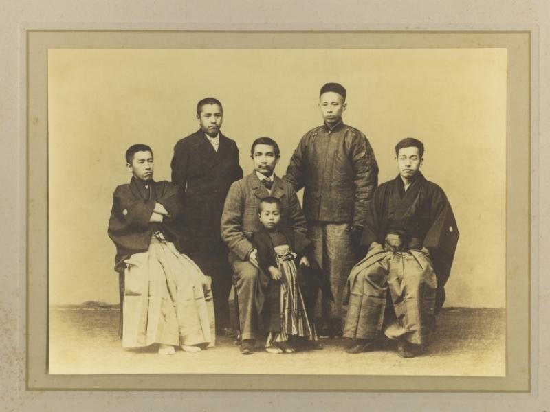 The Photos of Mr. Sun Yat-sen Visiting  Minakata Kumagusu