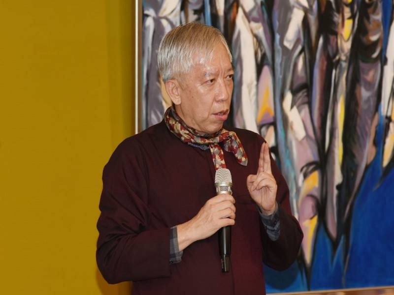 """Opening Ceremony of """"Ni Chao-Lung Retrospective Exhibition 2020""""-3"""