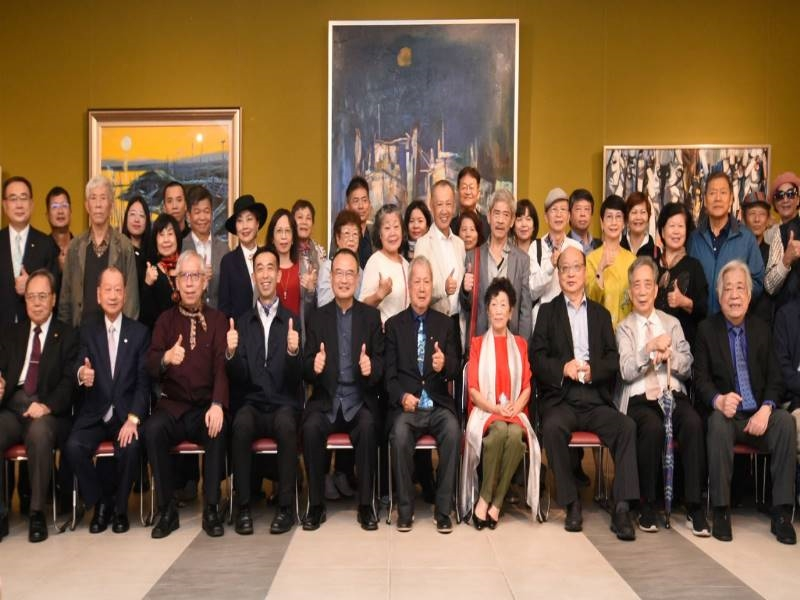 "Opening Ceremony of ""Ni Chao-Lung Retrospective Exhibition 2020""-9"
