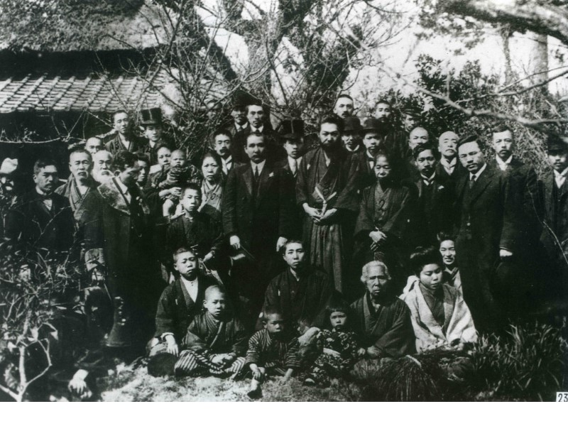Dr. Sun Yat-sen visited Mr. Miyazaki Torazo