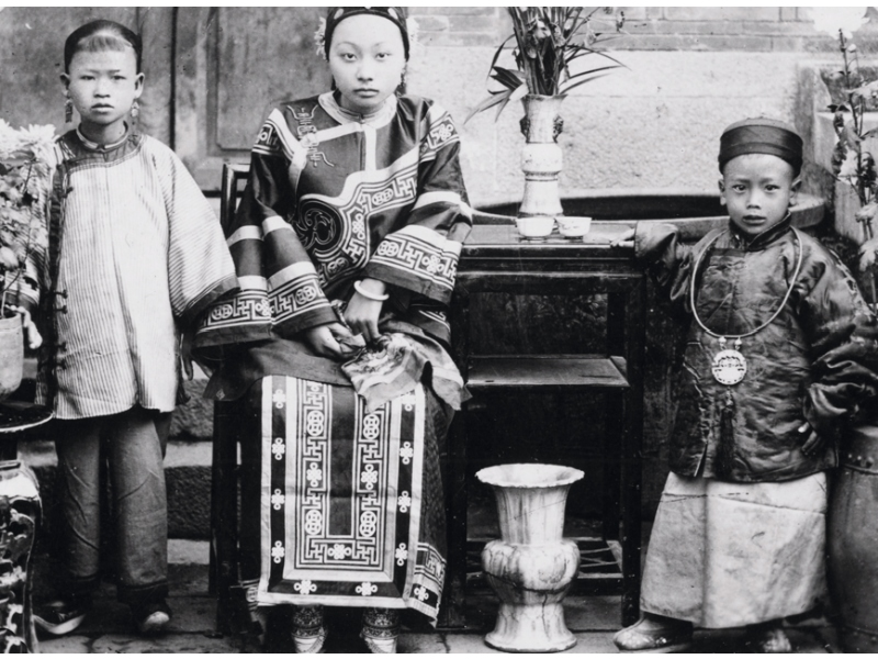Photograph of a Wealth Family