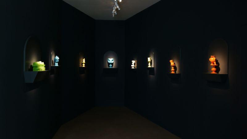 宇宙連環圖展場-游孟書作品「美力拜拜系列」