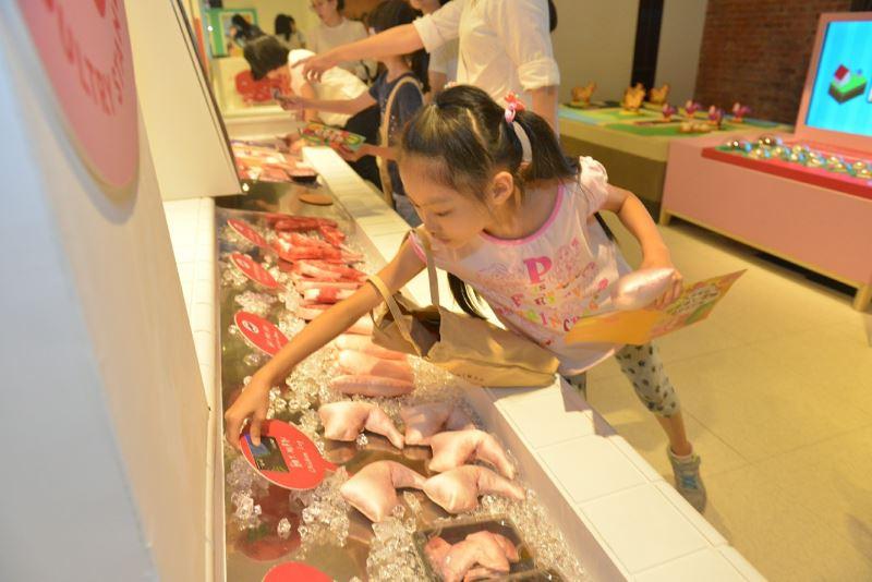 臺博館來SAY菜市場特展海鮮攤