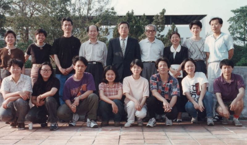 The Group Photo of the Lacquerware Workshop (NTCRI)