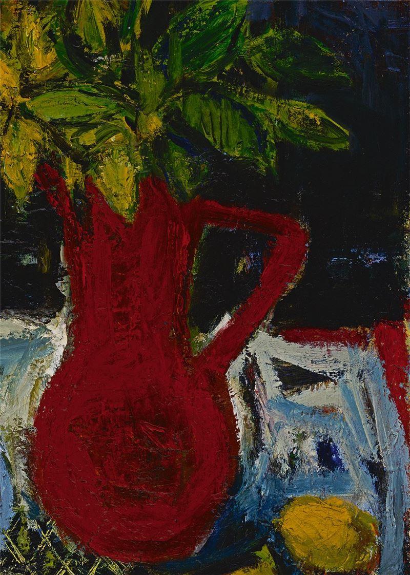 Chen Jeng-shiung〈A Red Vase〉Detail