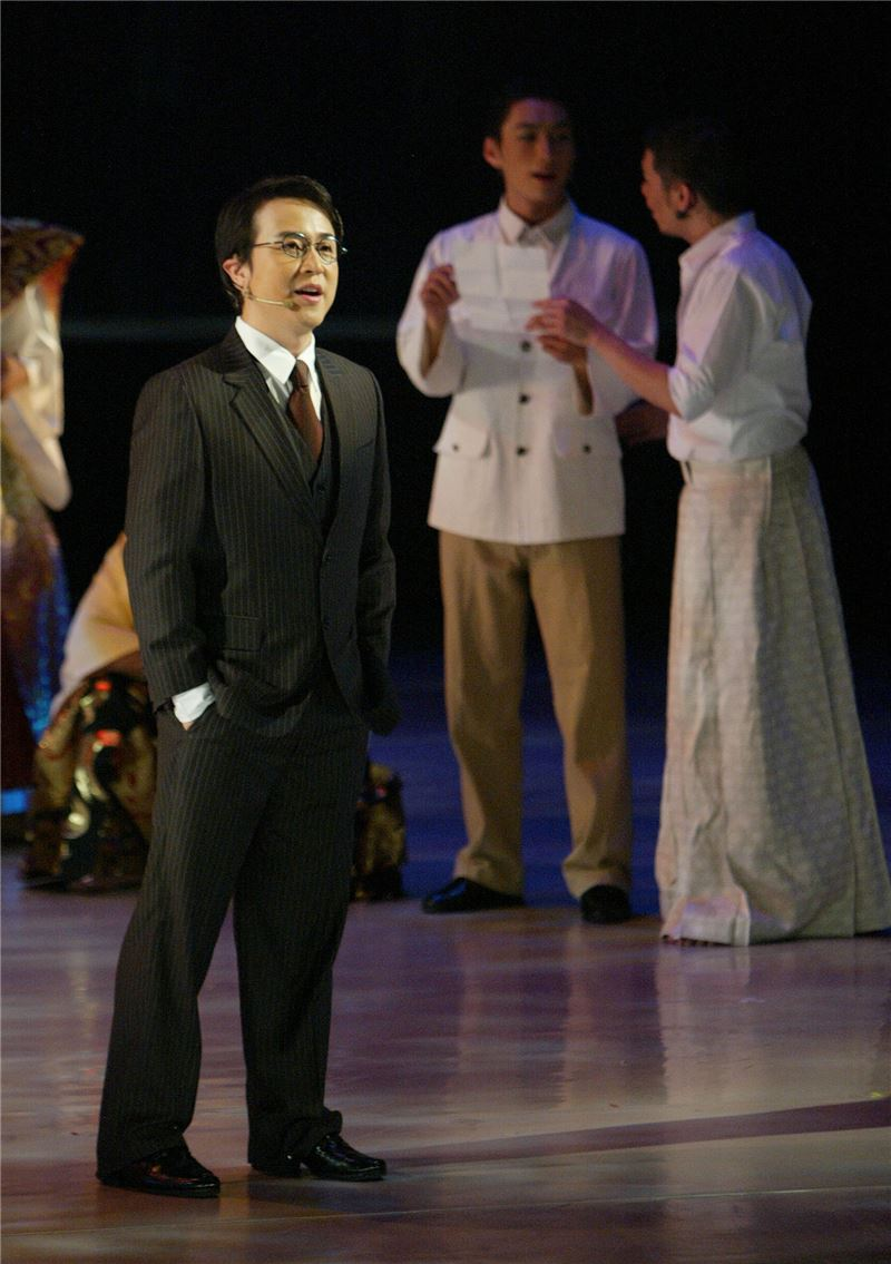 Stage Play April Rain premiered in 2007. (Source: Central News Agency)