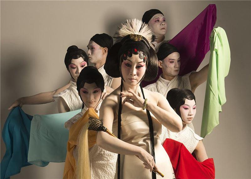 《水袖與胭脂》宣傳照片。(魏海敏 飾 楊貴妃)(2013)