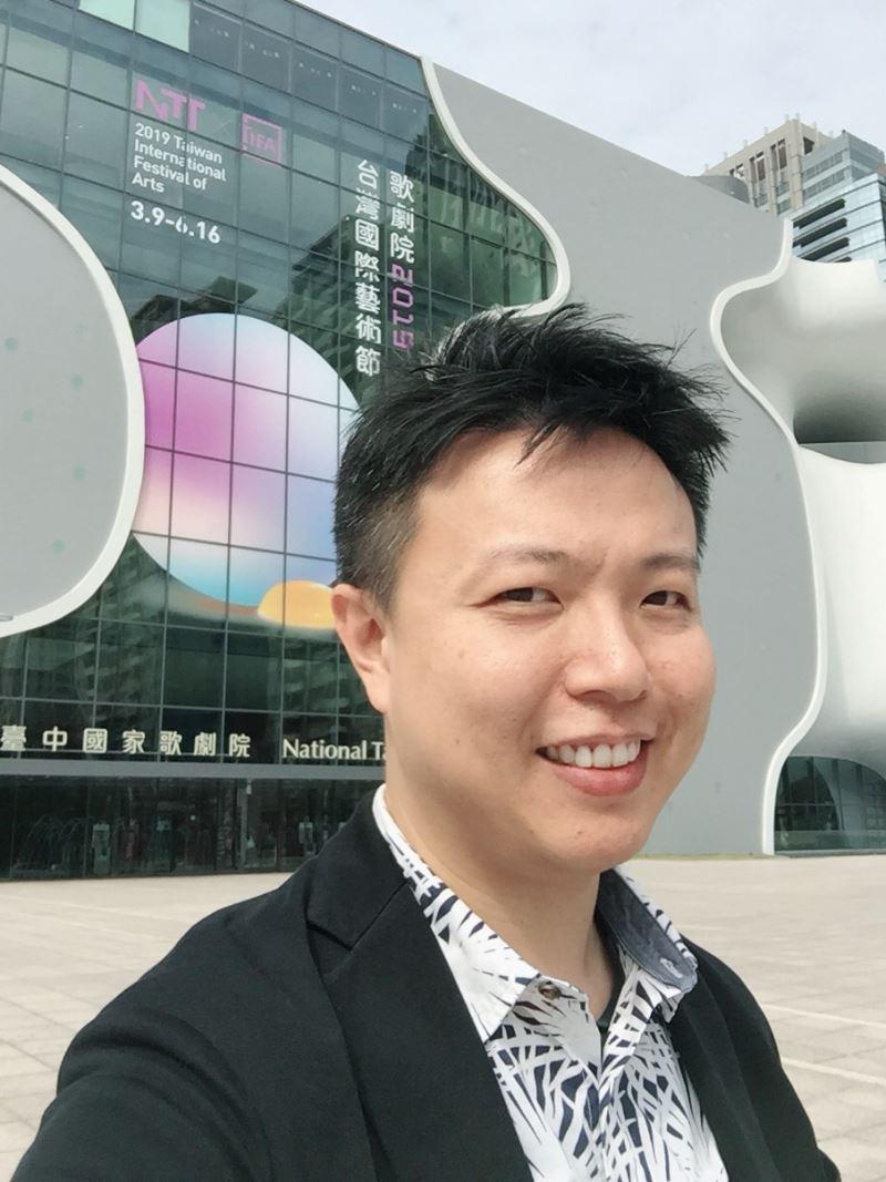 臺灣劇作家、電視劇《通靈少女》編劇林孟寰擔任主講嘉賓進行分享