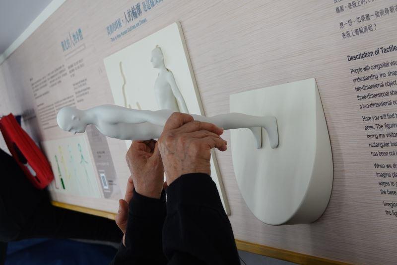 今天來看人物畫主題近用區,從人體的觸摸認識開始。